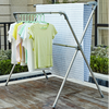 Mobile stainless steel clothes drying rack, scalable modern balcony clothes drying rack 3S-115
