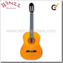 """[WINZZ] 39"""" Linden Plywood China Classical Guitar For Beginners (AC851)"""
