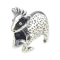 Wholesale Authentic 925 Sterling Silver Charm Christmas Reindeer For European Bracelet