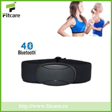 Bluetooth Heart rate monitor including 1*heart rate sensor,1*chest belt.1*user's manual