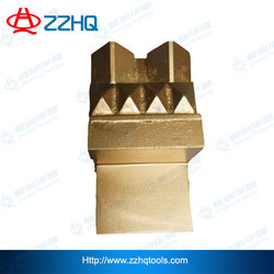 Cemented carbide tips TBM shield cutters