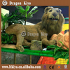 Hot sale Customized Fiberglass life size lion animal statues