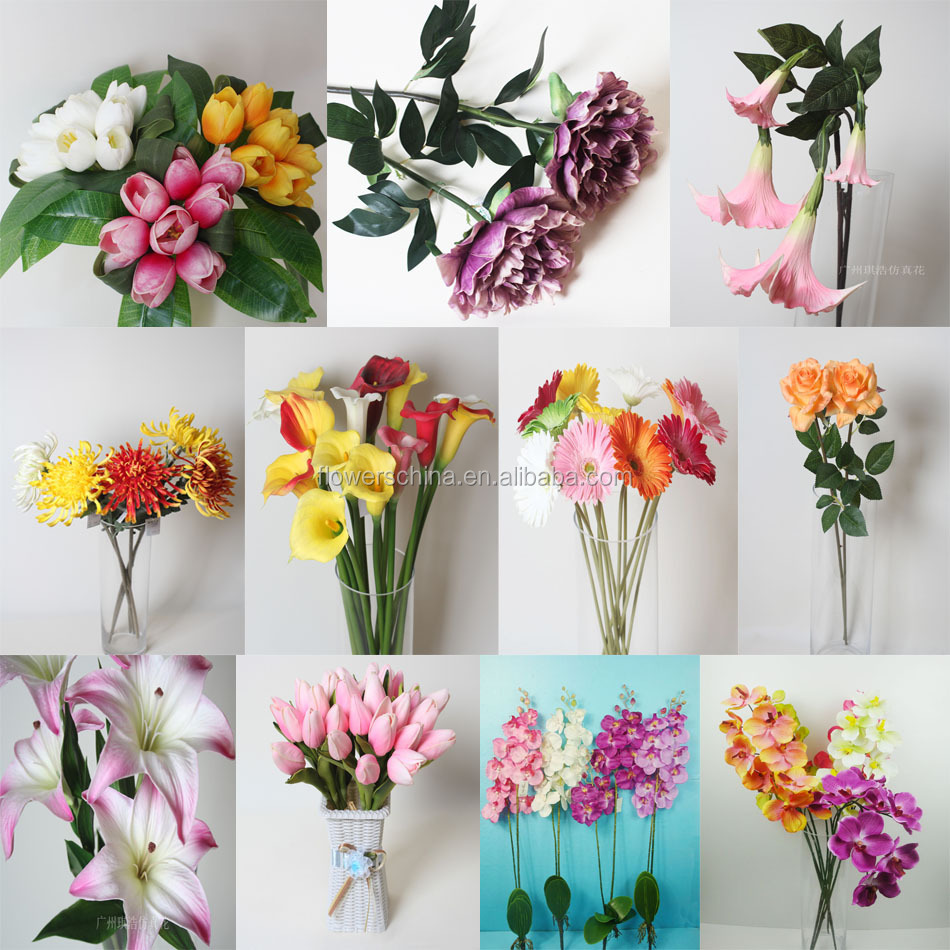 Loose Silk Flowers Flowers 2 Branches Flower For Arrangements Buy