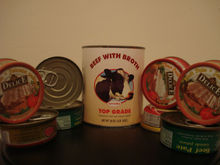 Canned Beef, Canned Pate