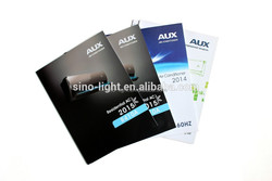 High quality promotion pamphlet manufacturer 4c/4c printing and gloss matt lamination printing high quality promotion brochure