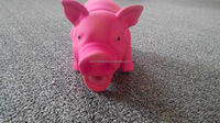 rubber pig toy,rubber toy pig,pig dog toy