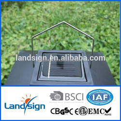 2015 new designed for home/garden use powerful led solar security light XLTD-101 low voltage solar mosquito killer lamp
