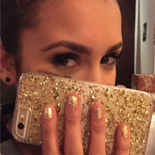 Vampires Glod Foil Case Cover For iPhone 6 Soft TPU Phone Cover Bling