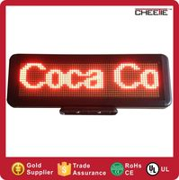 wholesale alibaba express wireless control 12v message moving scrolling car display led Advertising LED Display Message