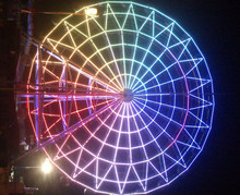 2015 Hot sale!!! Full color and changeable rgb led pixel light for amusement park