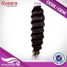 Cheap price black brazilian hair extensions with no split ends,New fashion Darling Hair Extension