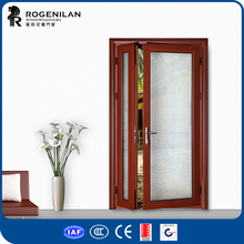 ROGENILAN vision panel frosted glass office doors exterior doors side panels