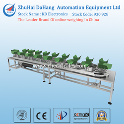 high speed fruit/vegetable sorting machine, weight sorting line