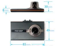 3.0'' Ultra Slim Car DVR Recorder car Black box with 140 degree lens T602