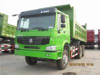 Hydraulic cylinder dump truck / used tipper trailer with rear dump