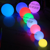 remote controlo garden led glowing floating ball for sales