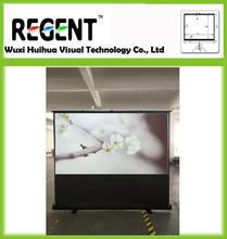 "100"" 16:9 Projector Screen/ Outdoor Ground Standing Screen/ Standing Curtain/ Display"