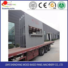 small multipurpose combination melamine faced laminated woodworking chipboard particleboard machine,chipboard making machine