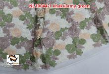 2015 believe win on sale fancy lace embroidery flower design net lace of NL10044