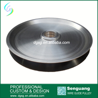 Wheel Pulley capstan With Ceramic Coating For High Efficiency Copper Wire Drawing Machine