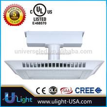 LED Flood Lights Parking Garage / Gas station LED Canopy Light certify by UL DLC