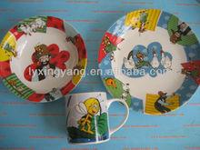 children porcelain dinner set,light weight dinner set,modern dinner set
