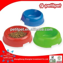 Large round plastic pet bowl ,pet bowls feeders