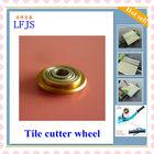 rodas do corte da telha, rodas do cortador da telha