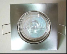 Hot products square led ceiling spot light fixture with china supplyer