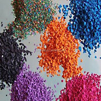 Customized color of EPDM Rubber Granules for sports field/school playground-FN-A-15083104