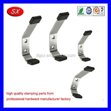 customized bended stamping parts coat cloth bath towel hooks stainless steel hooks