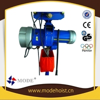 High speed electric hoist drywall lift hoist