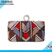 new design indian ethnic clutch bag women shoulder bag wholesale