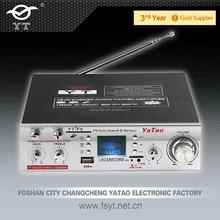 2 channel hifi amplifier usb YT-F6 with Karaoke