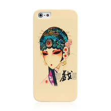 For Apple iPhone 6 Art Hand painted Hard Phone Case