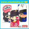 cellphone accessories 2015, cross stitch phone case, cartoon printed leather cases
