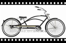 26 Cruiser Oversized Steel frame single speed coaster brakes beach cruiser bicycle/bike