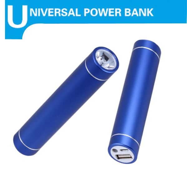 High Quality Cylinder Portable Cell Phone Charger for iPhone/Samsung Galaxy/Nokia/HTC/LG