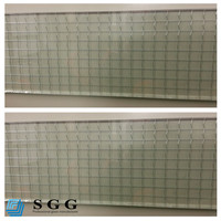 Excellence quality iron wire laminated glass
