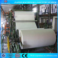 hot sale in libia 1092mm good quality culture paper making machine(double-dryer can and double-cylinder mould)