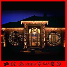 Merry Christma decoration Wreath lights