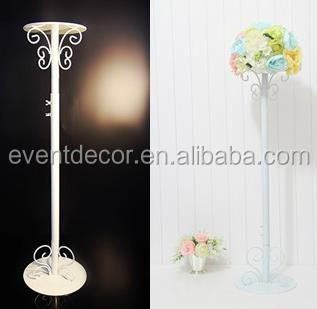 Tall Wedding Decoration Flower Stand Wrought Iron Flower Stand For Weddings