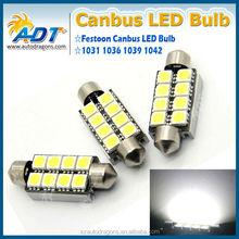 Car Dome 8 5050SMD LED Bulb Light Interior Festoon Lamp 42mm White New
