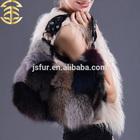 Nova chegada sacos de moda mistura de cores genuína animais de pele de guaxinim couro mulheres Designer de bolsa