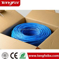 Low Return Resistance,UTP cat5/Cat6/cat6/lan cable Pass FLUKE Test network cabel,CU/CCA conductor lan cable