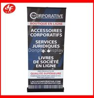 Hot sale duluxe rromotion retractable banner stand/roll up banner