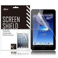 Free Sample 7 Inch Tablet screen protector for Asus memo pad hd 7 oem/odm (Anti-Glare)