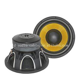 12 inch dual magnet car subwoofer made from China