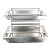 stainless steel 2 tier stand gn 1/1wall mounted