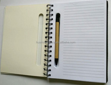 Custom Fancy Spiral NoteBook with sticky note and pen